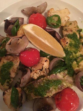 דג עם ירקות