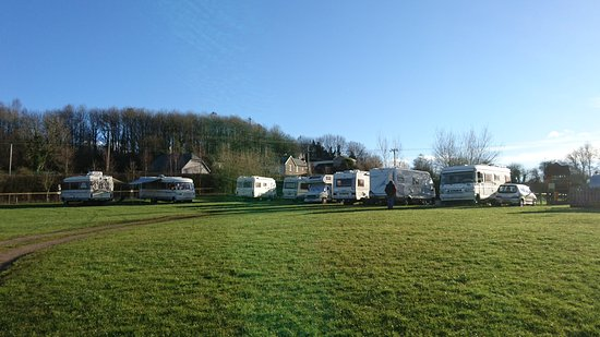 Drybrook, UK: Classic Hymer Meet.