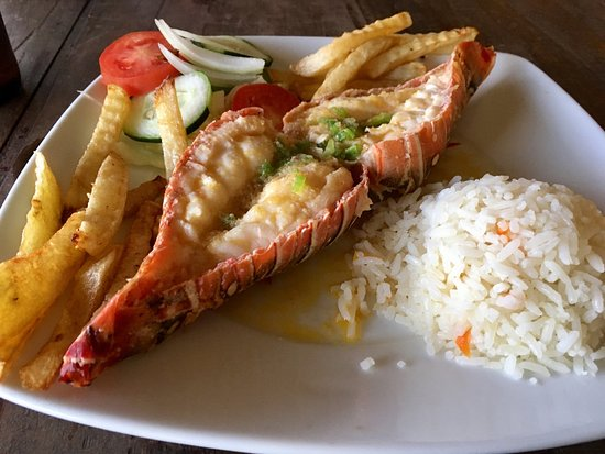 Seva's : Garlic lobster