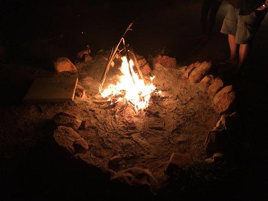 Kings Canyon, أستراليا: Fire
