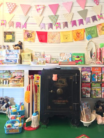 Sewanee, TN: Children's section with historical safe