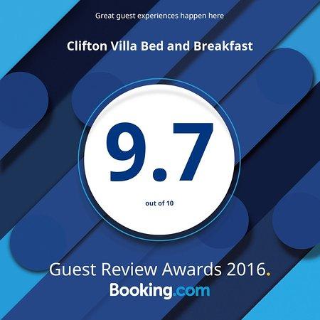 Clifton Villa Guest House: Awarded Clifton Villa