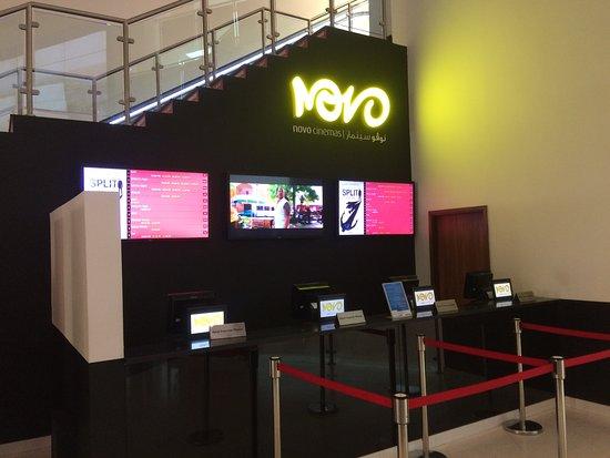 The best cinema in qatar - Review of Novo Cinemas, Doha