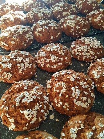 Temiscouata-sur-le-Lac, Canada: Muffins exquis sans gluten