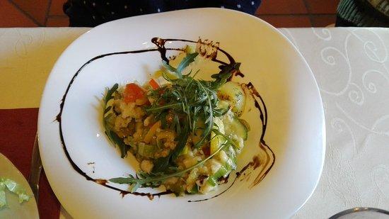 Liebenau, Austria: Gemüse-Kasnocken