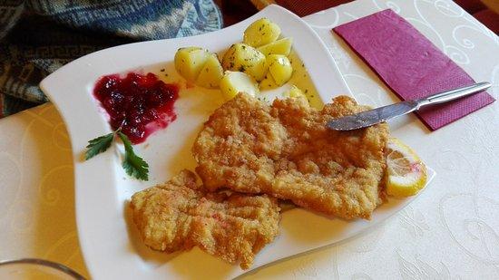 Liebenau, Austria: Putenschnitzel