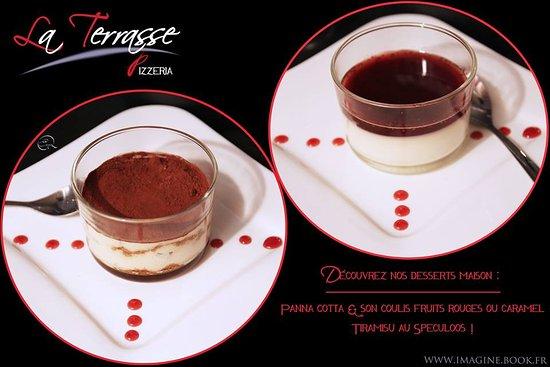 Bouliac, France: desserts