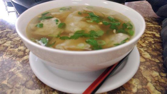 Brooks, Canada: Wonton soup