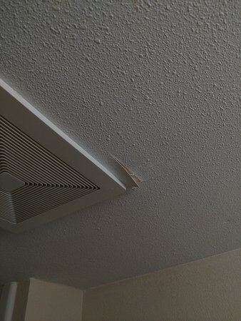 Wingate by Wyndham Raleigh North: Failing ceiling material