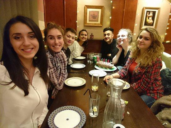 Pasha Restaurant: happy customers