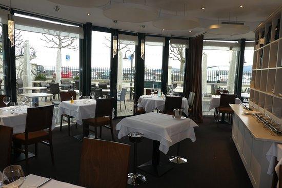 Versoix, Schweiz: Le restaurant