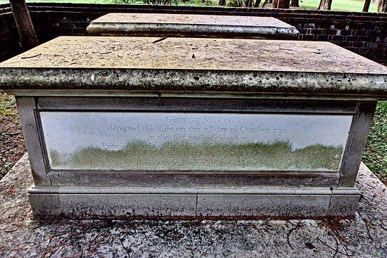 Lorton, VA: George Mason grave site