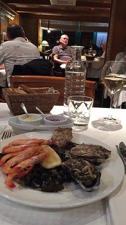 La Brasserie du Sillon: Menu 26euro...genial