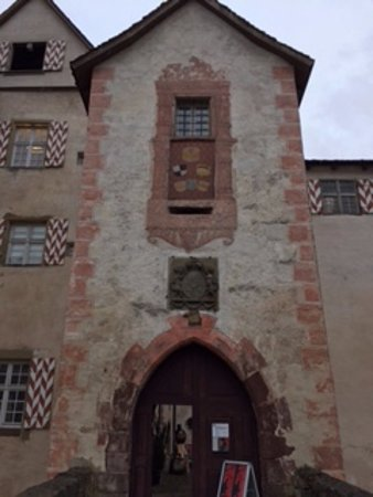 Sulz am Neckar, Germany: The tower surveilling the entrance