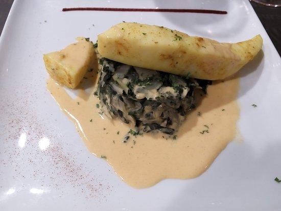 Bouffere, France: calamars chorizo