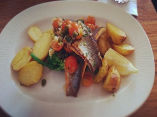 Skerries, İrlanda: Grilled Sea-Bass