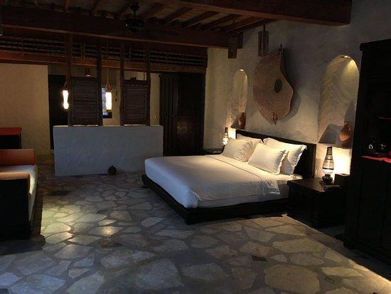 Six Senses Zighy Bay: Schlafzimmer