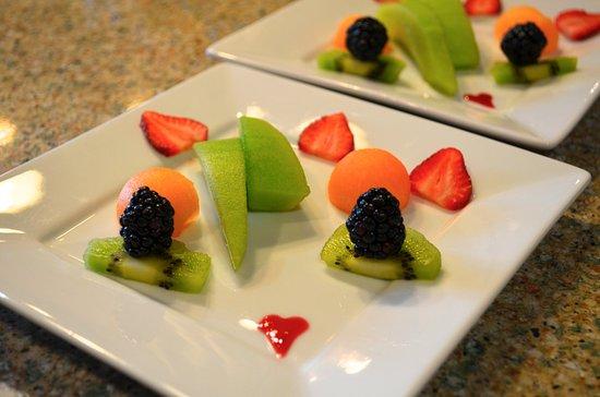 Bethlehem, Нью-Гэмпшир: Fruit course