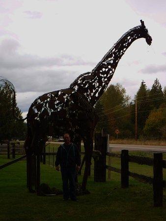 Ashford, WA: Truly lifesize sculptures