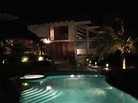 Tola, Nicaragua: Casa Sara at Night