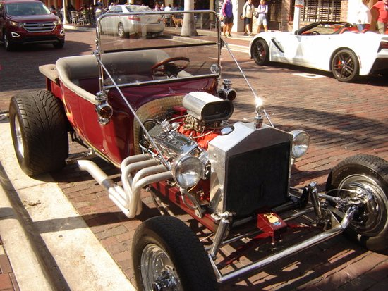 Restored Hot Rod At The Car Show Picture Of Fort Myers River - Edison car show ft myers