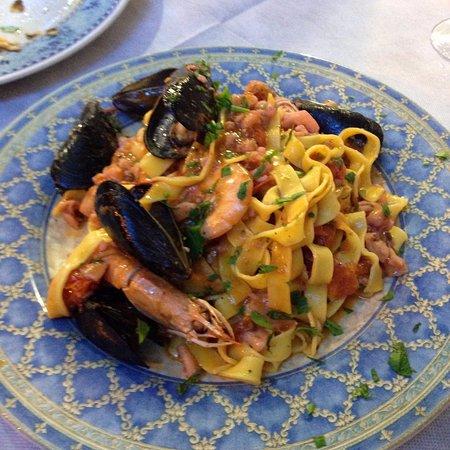 Ristorante da Ferdinando e Rosina: Итальянская кухня
