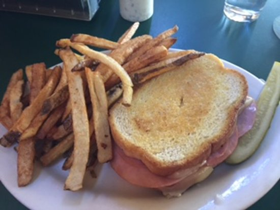 My Buddy's Place: ham and swiss on sourdough