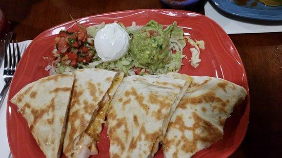 Cabo Wabo: Shrimp Quesadillas. Very delicious!