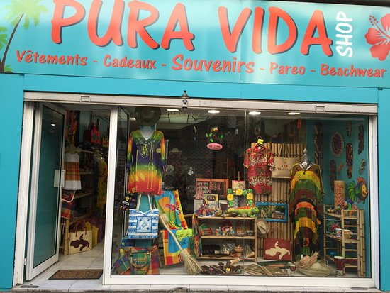 Fort-de-France, Martinique: Pura Vida Shop