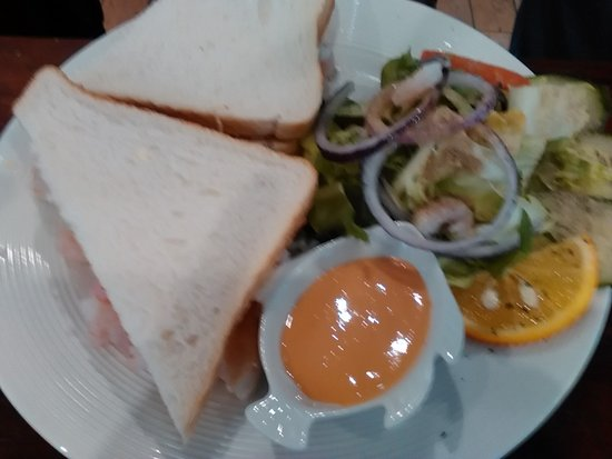 Lytham St Anne's, UK: Prawn Sandwich