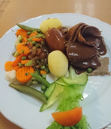 Sandefjord Motor Hotel Cafeteria Omd Men Om Restauranger
