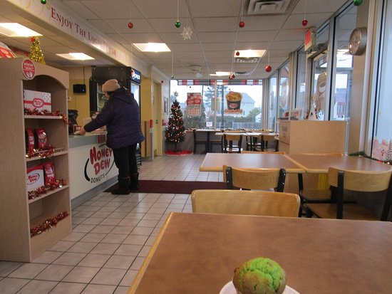 East Providence, RI: That is me inside Honey Dew Donuts.
