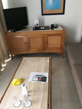 Apartamentos Fariones: The TV./chillout area.