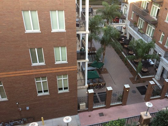 Andaz Savannah: View down to street of another hotel