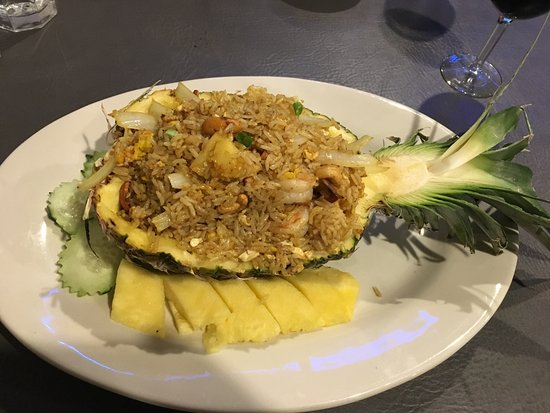 Decatur, IL: Pineapple Fried Rice