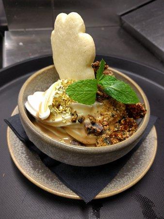 Golden Empire Soft Serve Vanilla Sundae