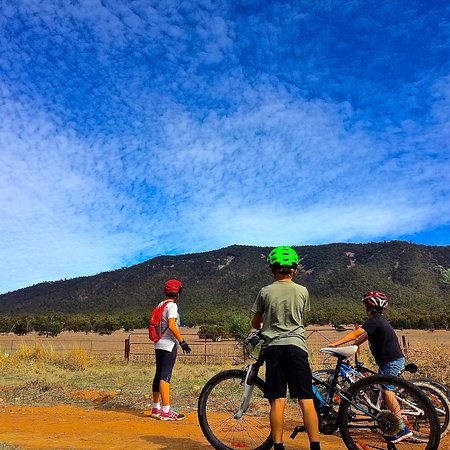 Melrose, Australia: A great family friendly ride, with awesome views of the Mount!
