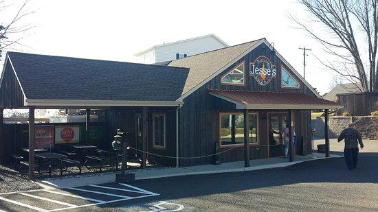 Souderton, Pensilvania: Front of Jesse's