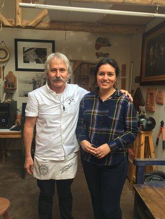 Ceramicas Seminario : With the Master