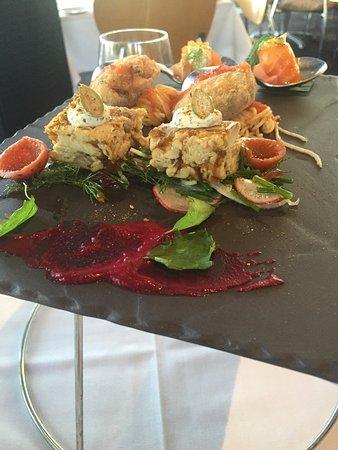 Red Ochre : tasting plate starter for 2