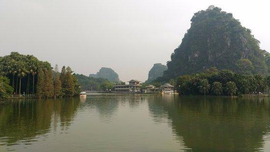 Zhaoqing, China: 景區一角