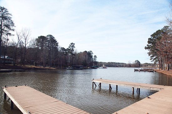 Eatonton, GA: The dock