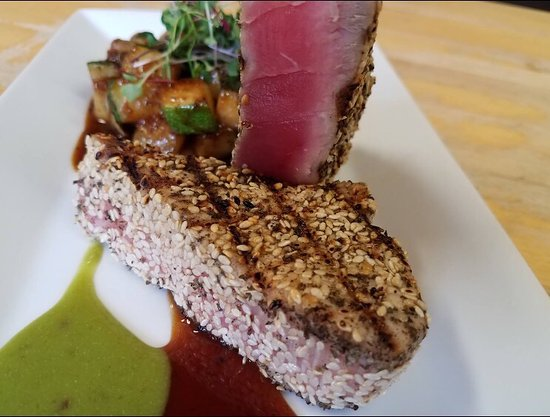 Columbia, Нью-Джерси: Delicious Ahi Tuna!! Elias never fails to impress! Love this place!!