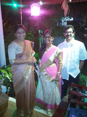 Heavenly Home Stay: Eminent and notable novelist Mrs.K.R Meera and her family.
