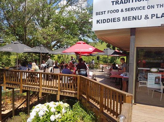 Haenertsburg, South Africa: Caffe' Villa Wood Fired Trattoria