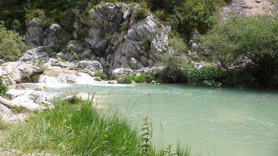 Comps-sur-Artuby, Prancis: Dans les environs pour se baigner
