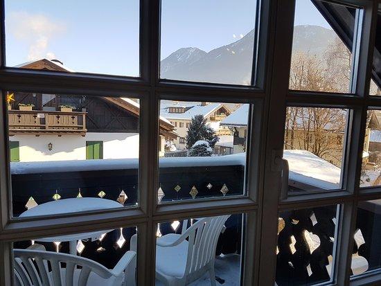 Hotel Edelweiss: נוף מהחלון