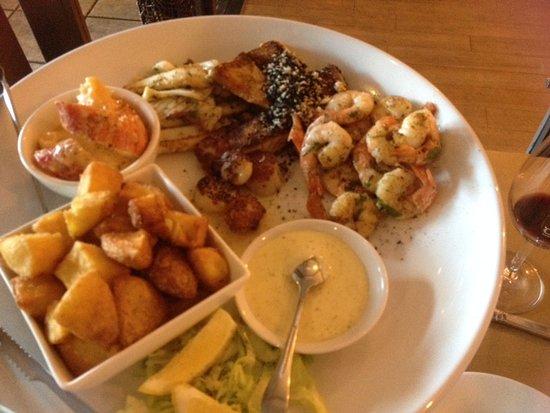 Glenelg, Australia: Seafood Plattert