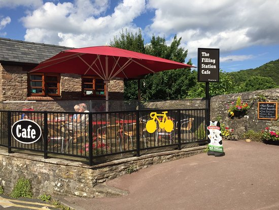 Tintern, UK: The Filling Station Cafe