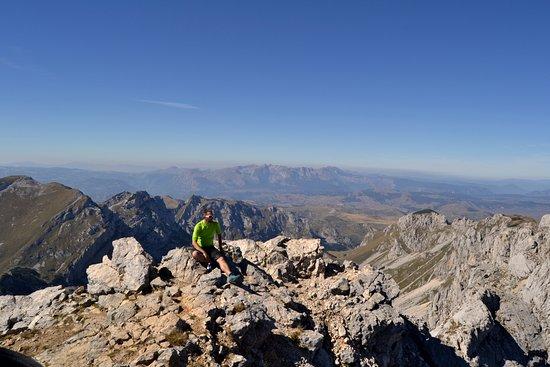 Durmitor National Park, Montenegro: Вид с горы Боботов Кук